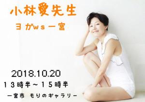 愛知県  一宮市   10/20(土)in  もりのギャラリー